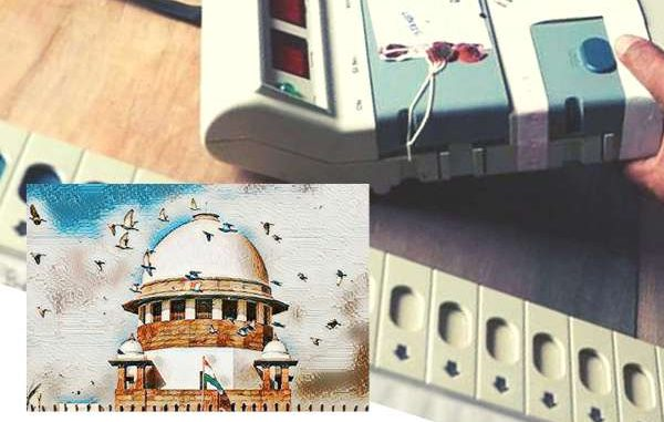 SC issues notice to Election Commission, EVM case