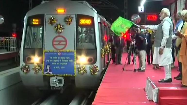 hindon metro station