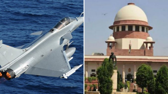 Defense Ministry told SC, record leaked in Rafale Case, Big threat to national security