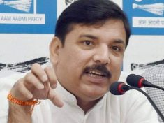 MP Sanjay Singh raised another voice in the Raphael scam